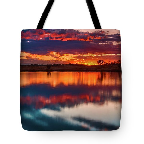 A Denver Dawn Tote Bag