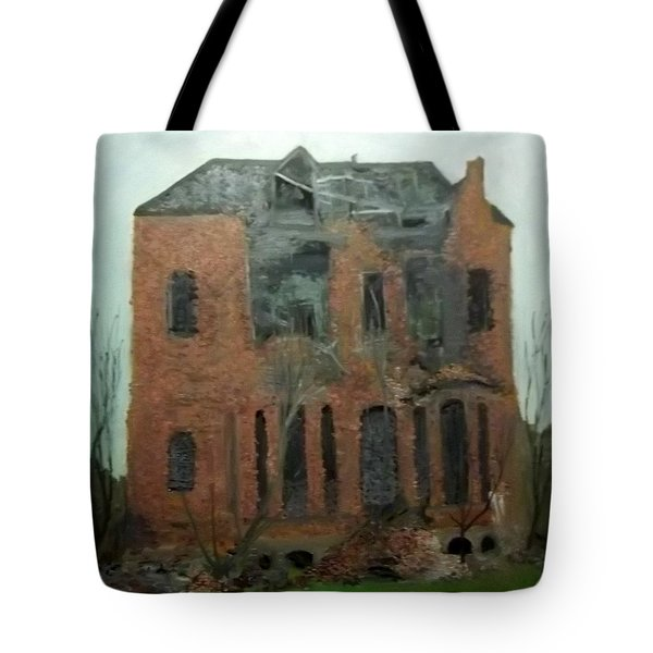 A Derelict House Tote Bag