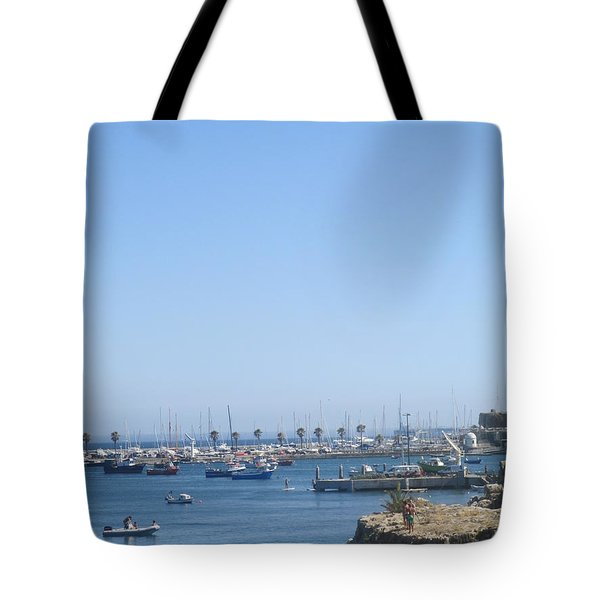 A Detail From Cascais Tote Bag