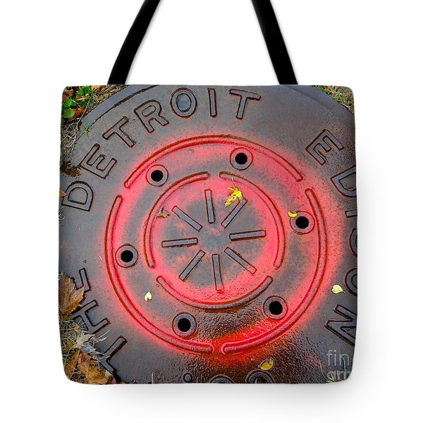A Detroit Thing Tote Bag by Sandra Church