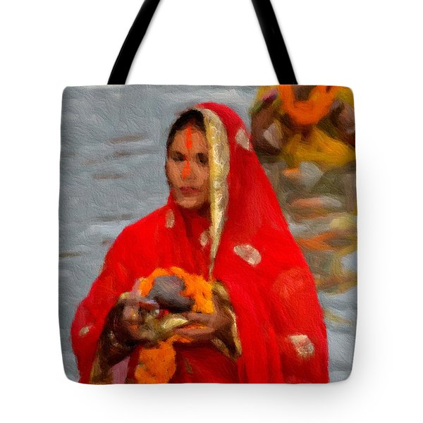 A Devotee  Tote Bag