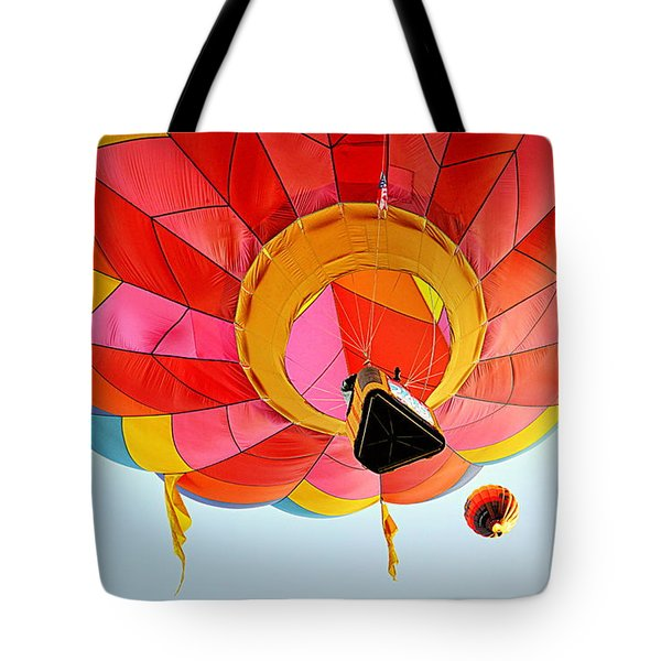 Tote Bag featuring the photograph A Different Point Of View  by AJ Schibig