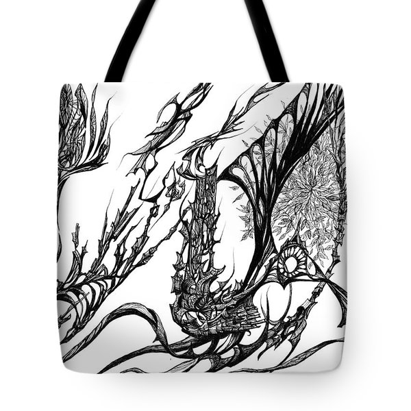 A Different Slant Tote Bag by Charles Cater