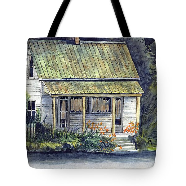 A Different Time And Place Tote Bag