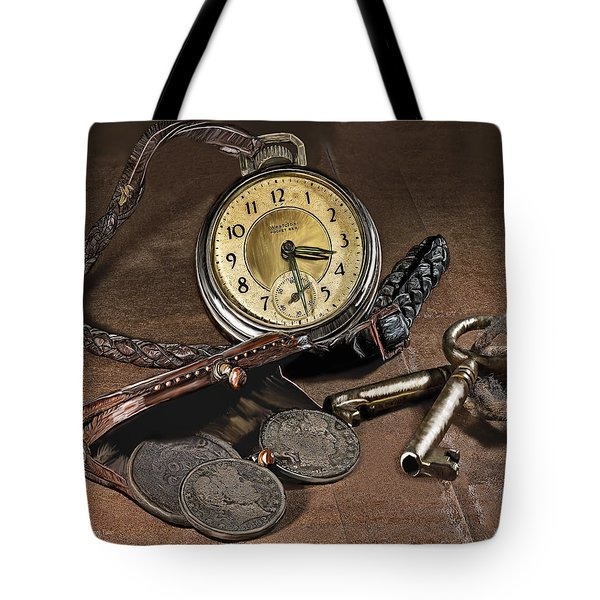 A Different Time Tote Bag by Mark Allen