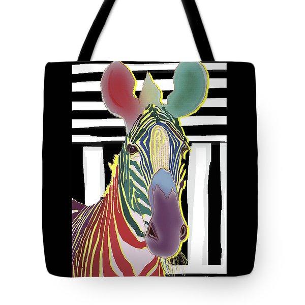A Different Zebra Tote Bag