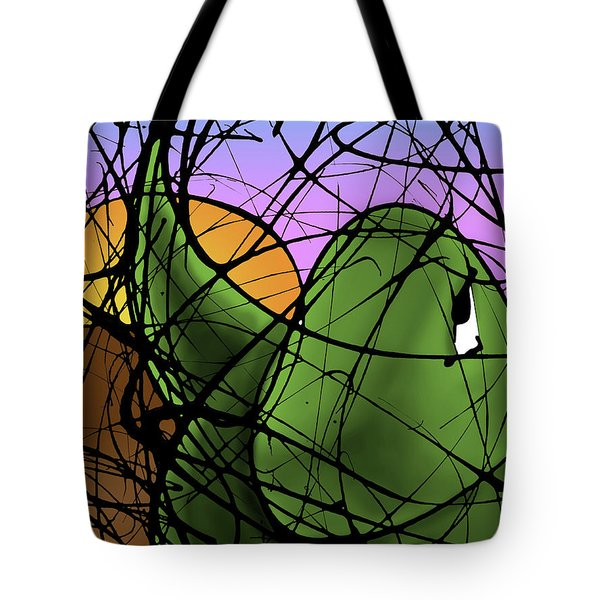 A Dinomite Sunset Tote Bag