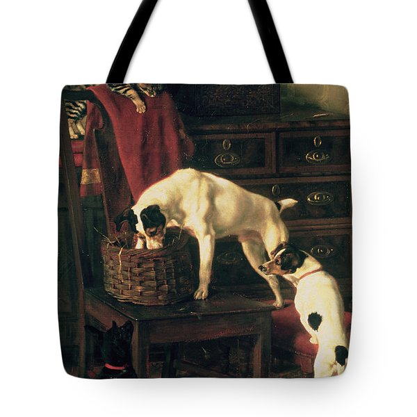 A Discreet Inquiry Tote Bag by Rupert Arthur Dent