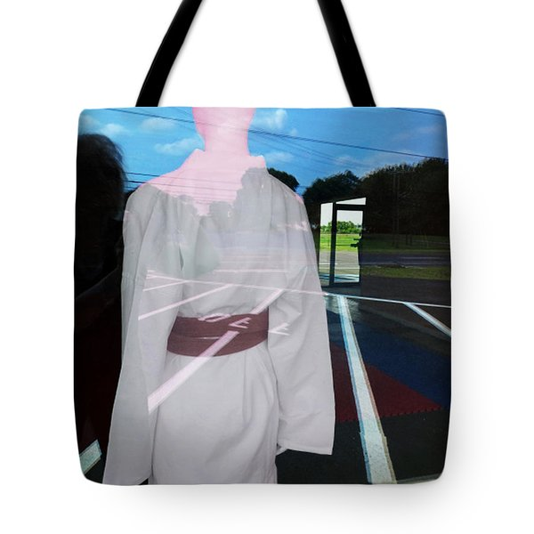 Tote Bag featuring the photograph A Distant Place by Lyric Lucas