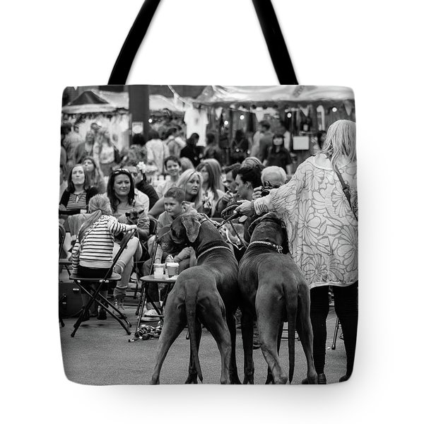 A Dogs Life Tote Bag