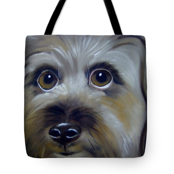 A Dog's Love Tote Bag