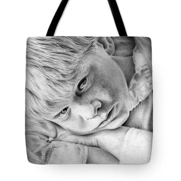 A Doleful Child Tote Bag