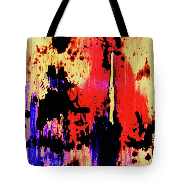 Tote Bag featuring the painting A Dollars Worth Of Blood by Roberto Prusso