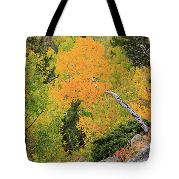 Yellow Drop Tote Bag