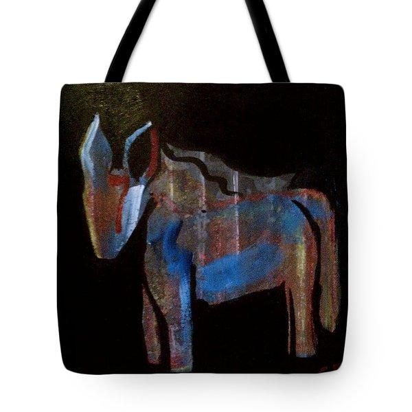 A Donkey Named Frog Tote Bag