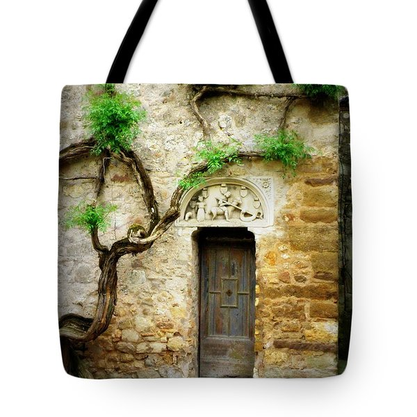 A Door In The Cloister Tote Bag
