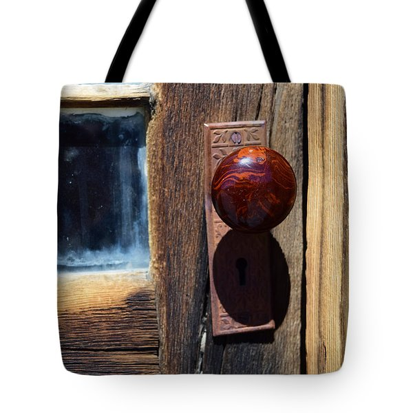 A Door To The Past Tote Bag