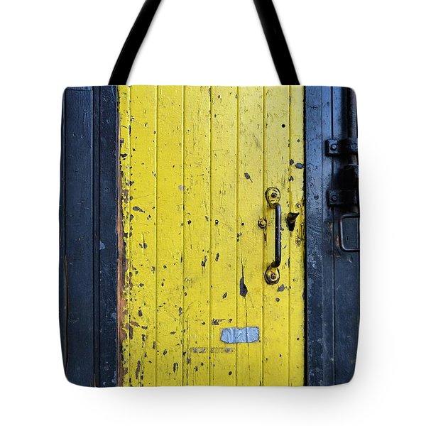 A Door Within A Door Tote Bag
