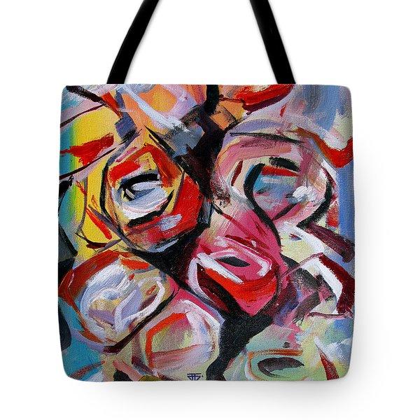 A Dozen Roses Tote Bag