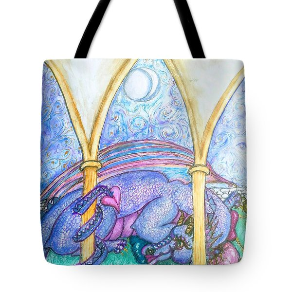 A Dragons Dream Tote Bag