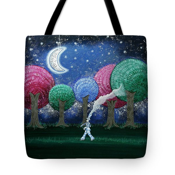 A Dream In The Forest Tote Bag by Graciela Bello