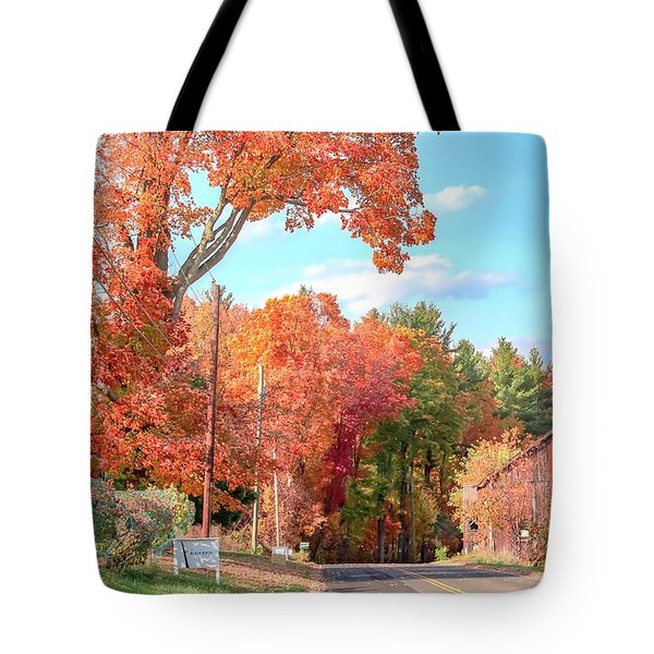 Tote Bag featuring the photograph A Drive In The Country by Sven Kielhorn