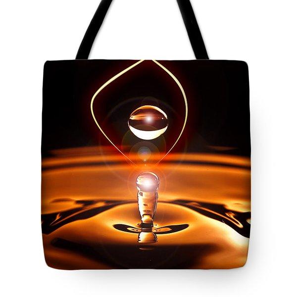 A Drop Of Light Tote Bag
