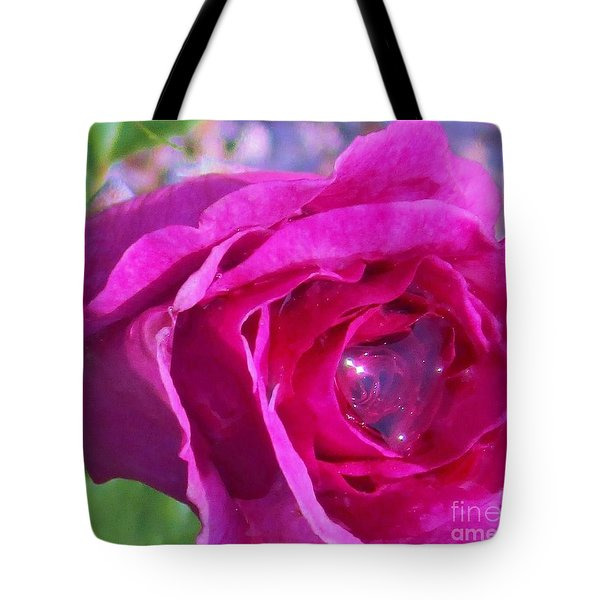 A Drop Of Love  2  Tote Bag