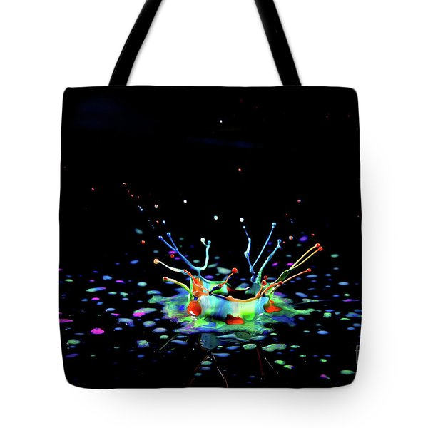 A Drop That Is A Crown Tote Bag