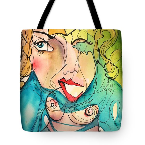 A Drowning Demise Tote Bag