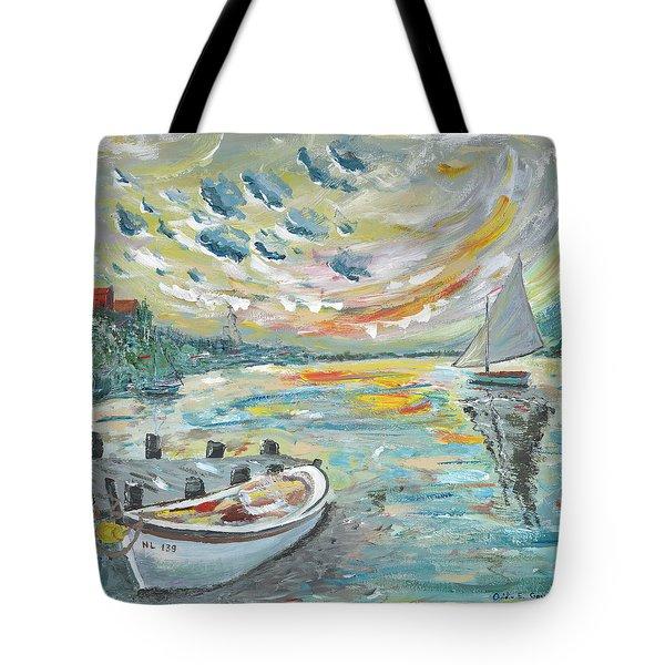 A Dutch Sunset Tote Bag