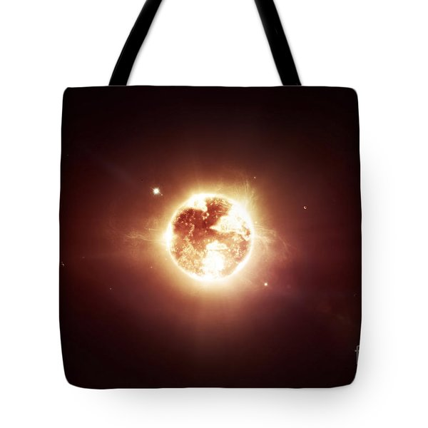 A Dying Star Which Will Soon Give New Tote Bag by Tomasz Dabrowski