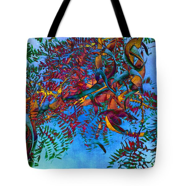 A Fabric Of Illusion Tote Bag