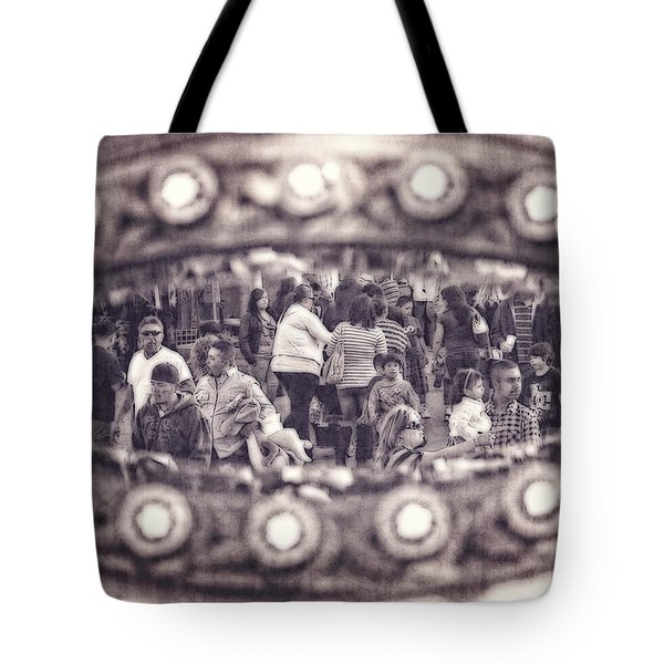 A Fair Day Tote Bag by Caitlyn  Grasso