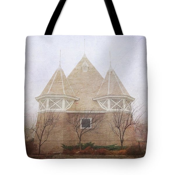 Tote Bag featuring the photograph A Fairytale Fog by Heidi Hermes