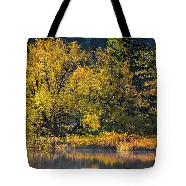 A Fall Day  Tote Bag