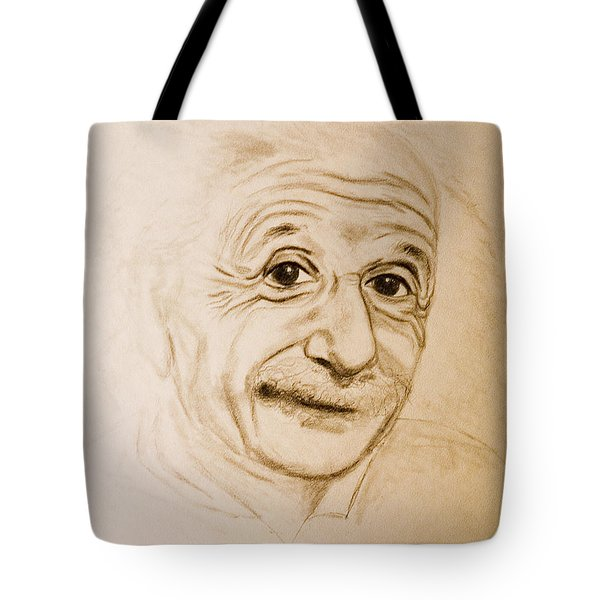 A Familiar Face Tote Bag