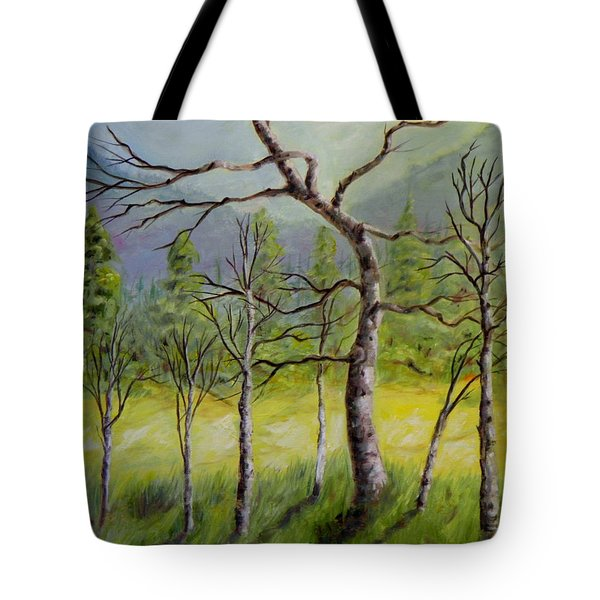 A Family Of Trees Tote Bag