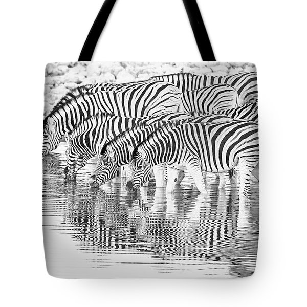 A Family That Drinks Together. Tote Bag