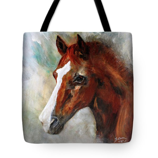 A Family's First Horse Tote Bag by Barbie Batson