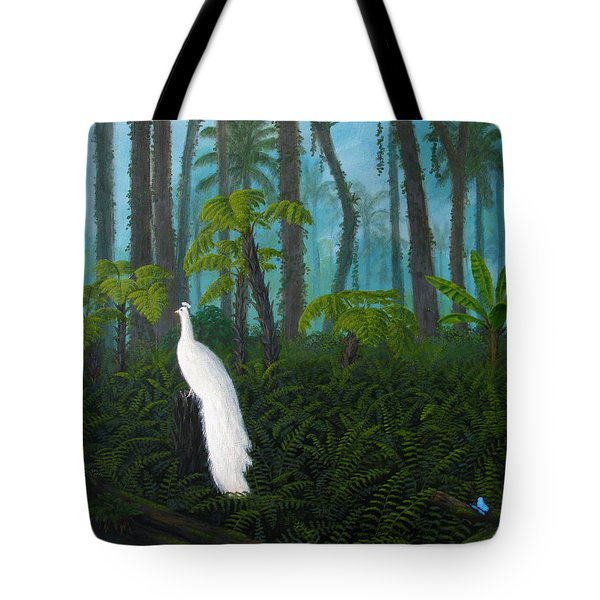 A Fantasy In White Tote Bag