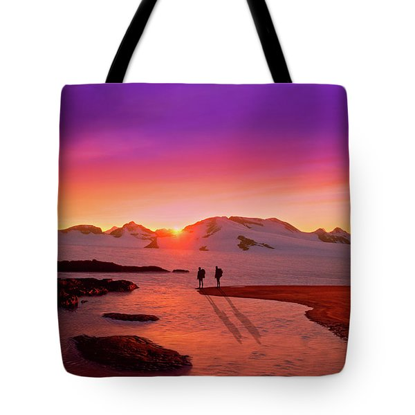 A Far-off Place Tote Bag