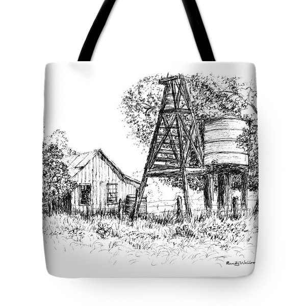 A Farm In Schroeder Tote Bag