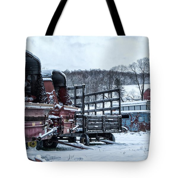 A Farmers Winter Tote Bag