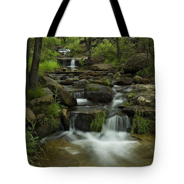 A Peaceful Place Tote Bag by Sue Cullumber