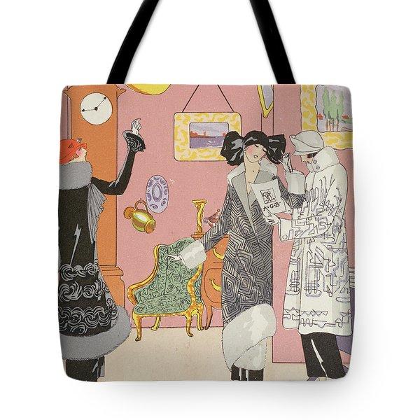 A Few Pretty Novelties Tote Bag
