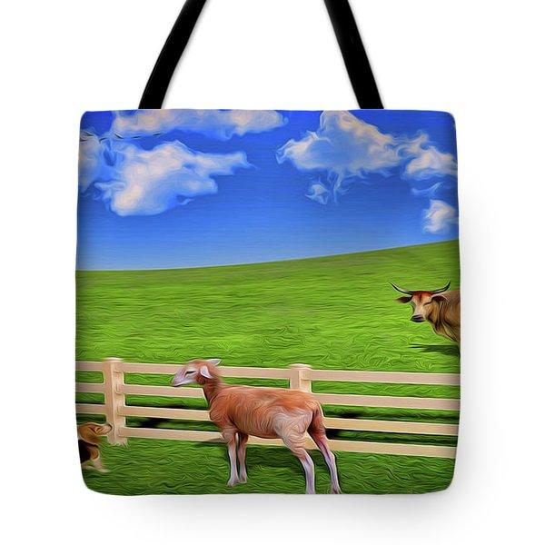 A Field Tote Bag