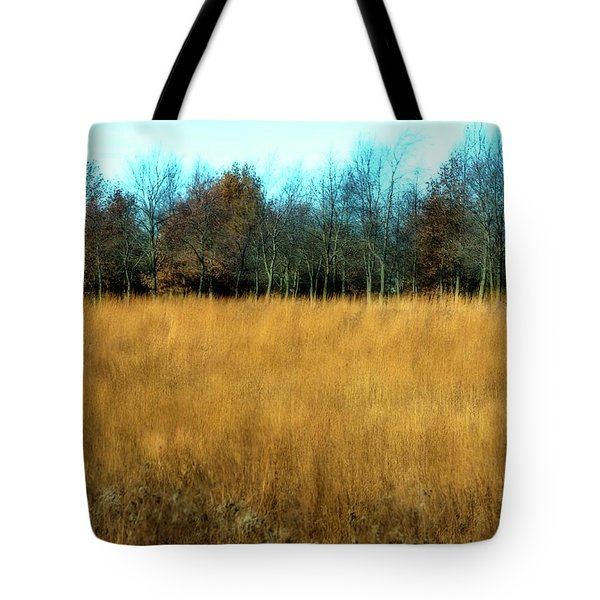 A Field Of Browns Tote Bag