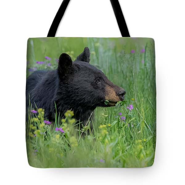 Tote Bag featuring the photograph A Field Of Dreams by Yeates Photography