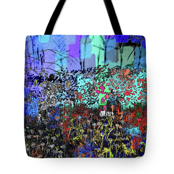 A Field Of Flowers Tote Bag